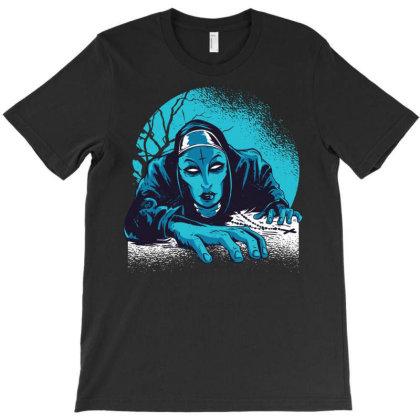 Dark Nun T-shirt Designed By Igaart