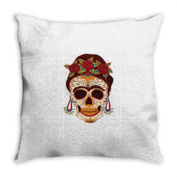 day of the dead Throw Pillow | Artistshot