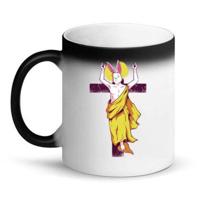 Easter Bunny Resurrection Magic Mug Designed By Igaart