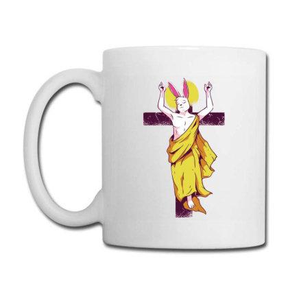 Easter Bunny Resurrection Coffee Mug Designed By Igaart