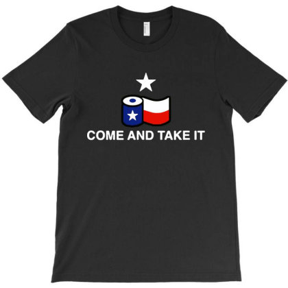 Come And Take It Texas Flag T-shirt Designed By Ooredoo