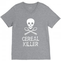 Cereal Killer V-Neck Tee | Artistshot