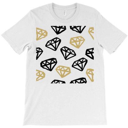 Diamond Pattern T-shirt Designed By Lumlum