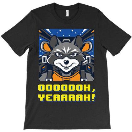 Raccoon T-shirt Designed By Lumlum