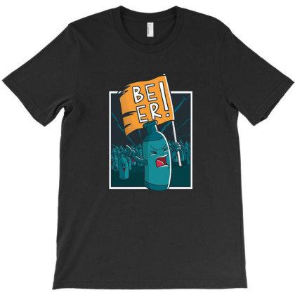 Beer Revolt T-shirt Designed By Jeffrey