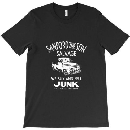 Sanford And Son Salvage T-shirt Designed By Camnea