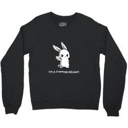 i'm a fking delight Crewneck Sweatshirt | Artistshot