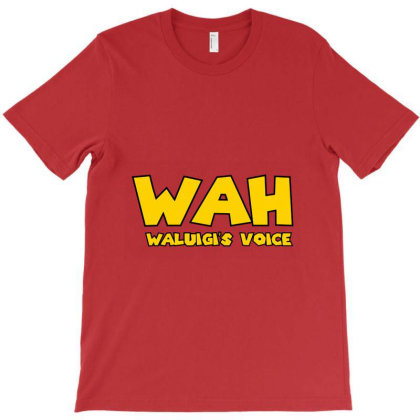 Waluigi Voice ( Wah ) T-shirt Designed By Willo