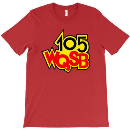Wqsb Radio 105 T-shirt Designed By Willo