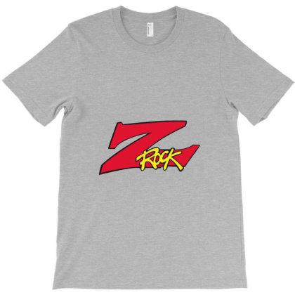 Z Rock Radio Logo T-shirt Designed By Willo