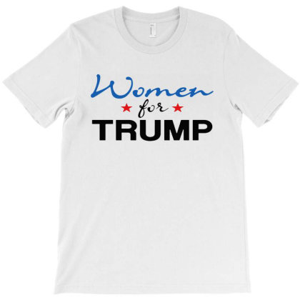 Women For Trump T-shirt Designed By Megumi
