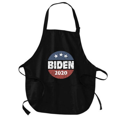 Biden 2020 Vintage Medium-length Apron Designed By Qudkin