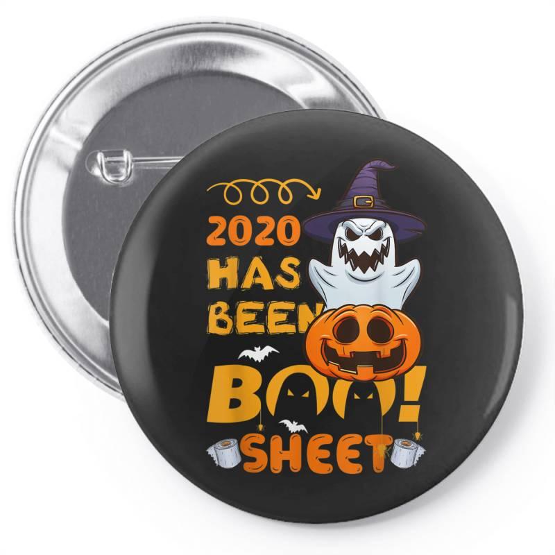 Custom Halloween 2020 Has Been Boo Sheet Pin-back Button