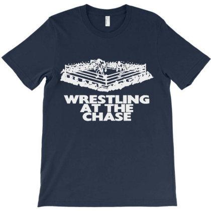 Wrestling At The Chase Logo T-shirt Designed By Teeshirtninja