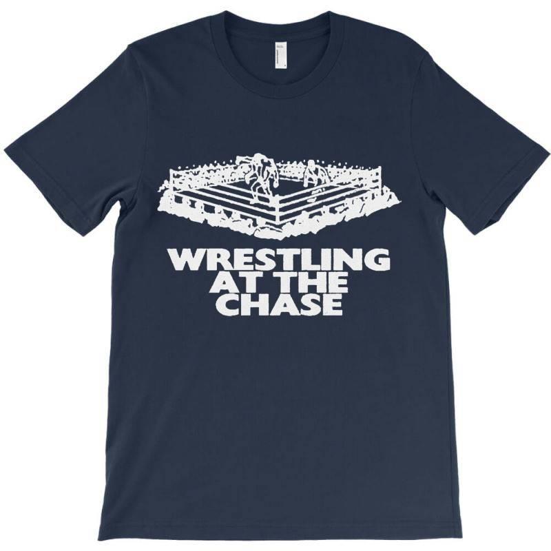 Wrestling At The Chase Logo T-shirt   Artistshot