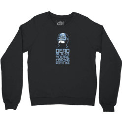 robocop Crewneck Sweatshirt | Artistshot