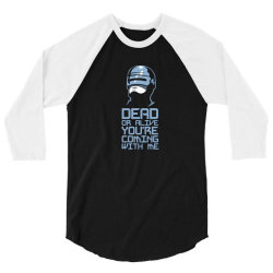 robocop 3/4 Sleeve Shirt | Artistshot