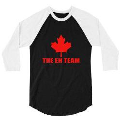 the eh team 3/4 Sleeve Shirt | Artistshot