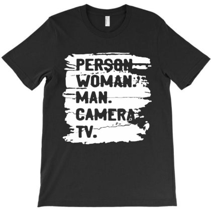 Person Woman Man Camera Tv Classic 2020 T-shirt Designed By Kathrin Sutter