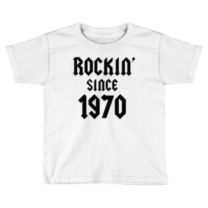 Classic Rock 1970   50th Birthday Toddler T-shirt Designed By Balprut Store