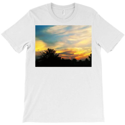 Clouds T-shirt Designed By Fabsign