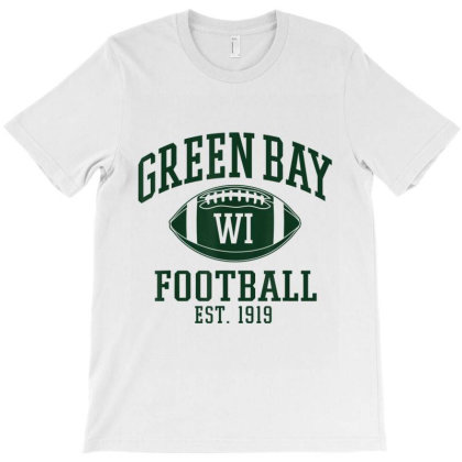 Vintage Green Bay Wisconsin Football Retro Gift T-shirt Designed By Conco335@gmail.com