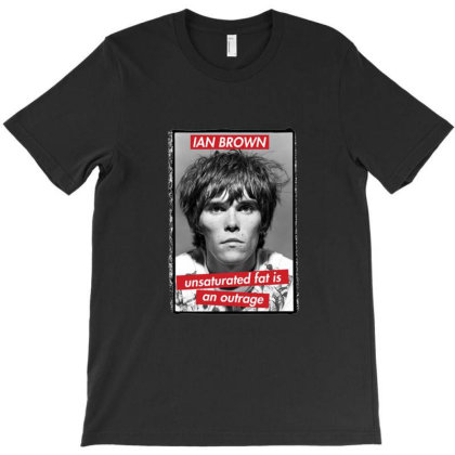 Ian Brown Stone Roses T-shirt Designed By Jeffrey