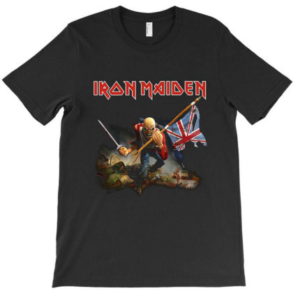 Iron Maiden T-shirt Designed By Jeffrey