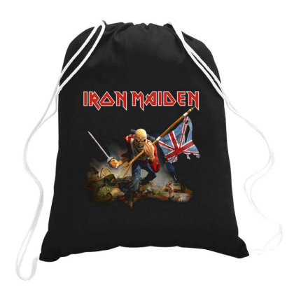 Iron Maiden Drawstring Bags Designed By Jeffrey