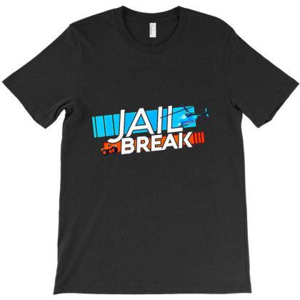 Jailbreak Getaway T-shirt Designed By Jeffrey