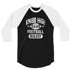 knibb high football rules 3/4 Sleeve Shirt | Artistshot