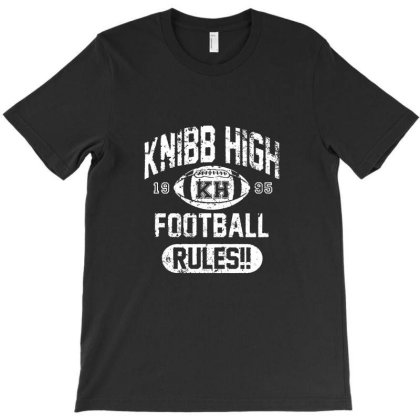 Knibb High Football Rules T-shirt Designed By Lexa