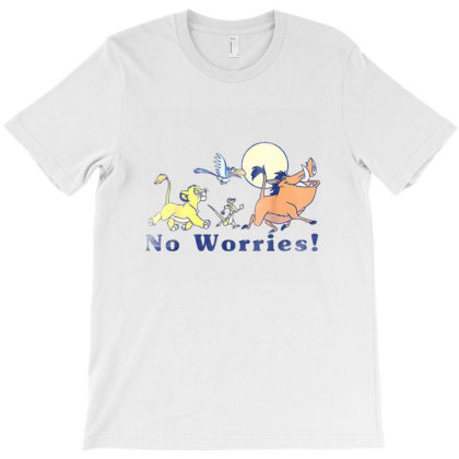 Lion King No Worries T-shirt Designed By Jeffrey