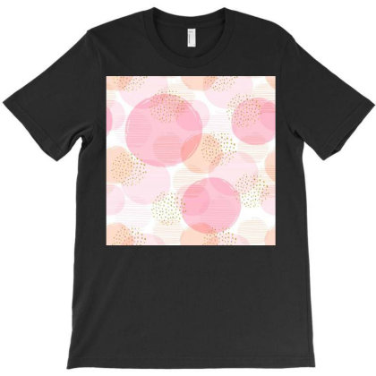 Round Colourful Pattern T-shirt Designed By Fabsign