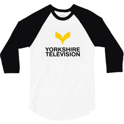 York Shire Tv Symbol 3/4 Sleeve Shirt Designed By Donaagnesia