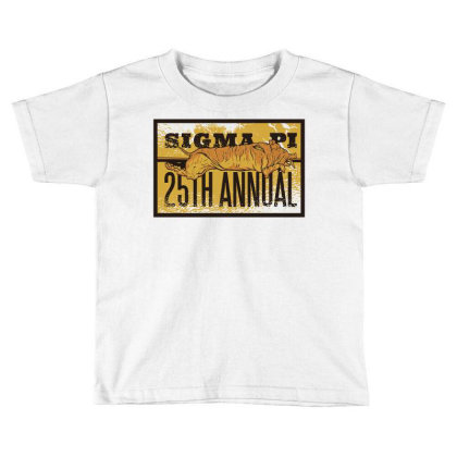 Fraternity 25th Anniversary Toddler T-shirt Designed By Zizahart