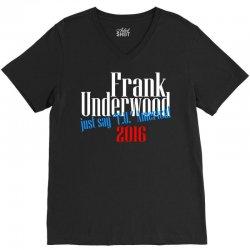 frank underwood V-Neck Tee | Artistshot