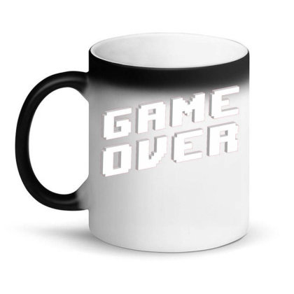 Game Over Magic Mug Designed By Zizahart
