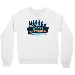 funny weekend Crewneck Sweatshirt | Artistshot