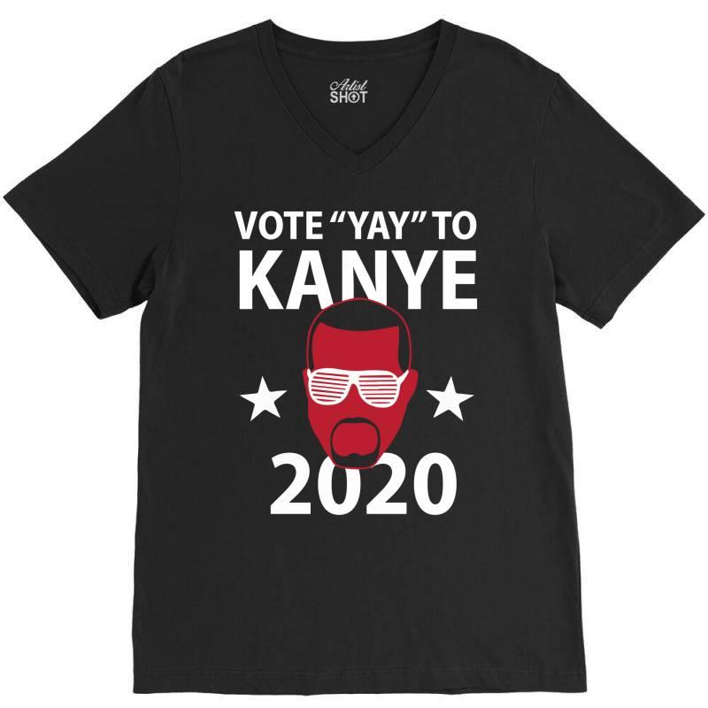 Kanye 2020 V-neck Tee | Artistshot