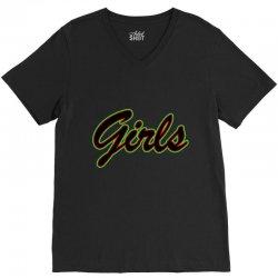 girls V-Neck Tee | Artistshot