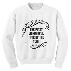 The Most Wonderful - Christmas Gift Funny Youth Sweatshirt | Artistshot