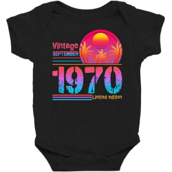 vintage september 1970 limited edition Baby Bodysuit   Artistshot