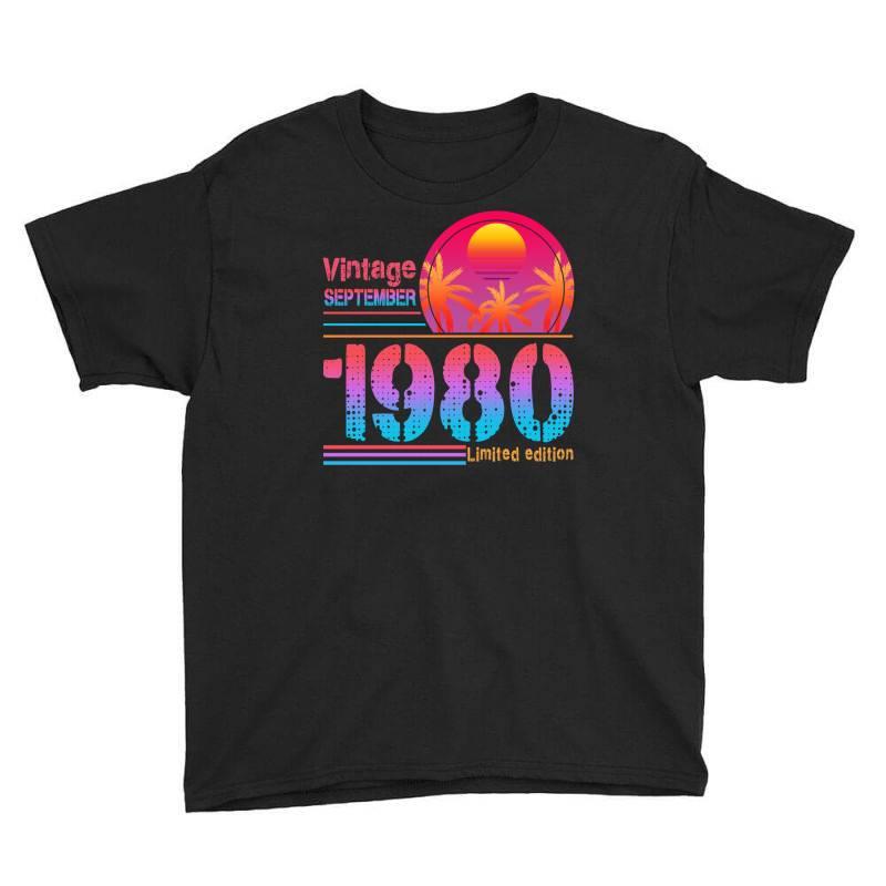 Vintage September 1980 Limited Edition Youth Tee | Artistshot