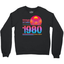 vintage september 1980 limited edition Crewneck Sweatshirt | Artistshot