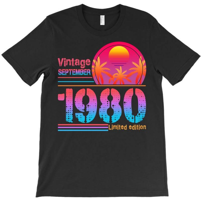 Vintage September 1980 Limited Edition T-shirt | Artistshot