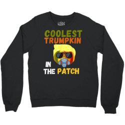 coolest trumpkin in the patch halloween Crewneck Sweatshirt   Artistshot