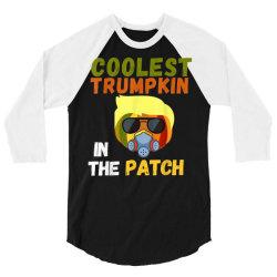 coolest trumpkin in the patch halloween 3/4 Sleeve Shirt   Artistshot