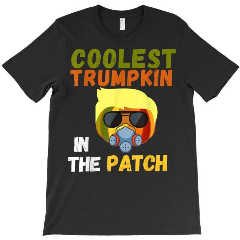 Coolest Trumpkin In The Patch Halloween T-shirt   Artistshot