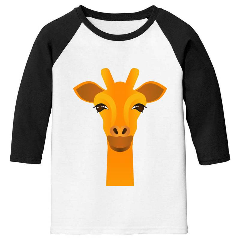 Giraffe Drawing Youth 3/4 Sleeve | Artistshot